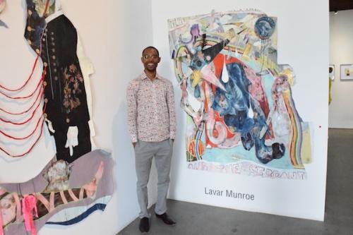 Lavar Munroe chosen as Norton Museum of Art Artist-In-Residence