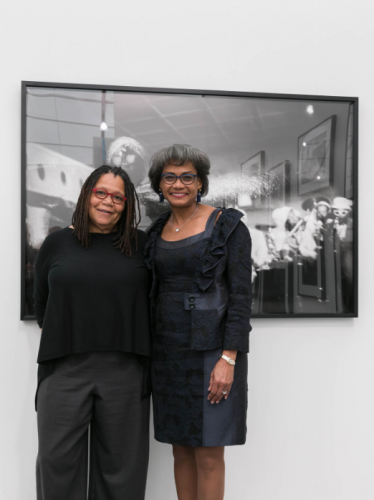 Jenkins Johnson Gallery's solo presentation of Ming Smith wins prize