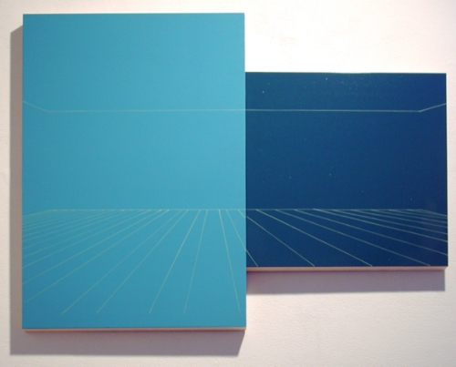 """Kate Shepherd, """"Blue and Teal Blue, Sunshine Stage"""" (2002)"""
