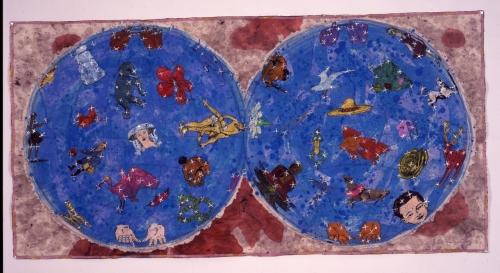 Jane Hammond, Detail: Cielo, 2002