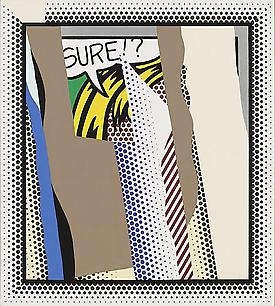 Roy Lichtenstein Reflected in the New York Times