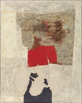 Alberto Burri at the Guggenheim