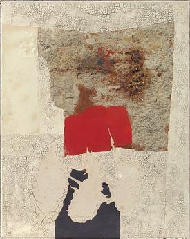 Alberto Burri at the Guggenheim