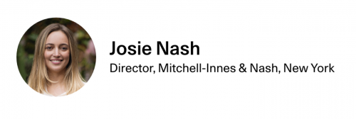 Josephine Nash in The 25 Rising Power Players Who Will Run the Art Market