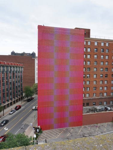 Julian Stanczak & Jessica Stockholder included in the FRONT International: Cleveland Triennial for Contemporary Art