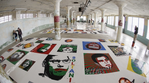 @ Large: Ai Weiwei on Alcatraz