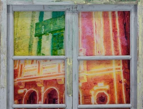 李青个展《后窗》于上海PRADA荣宅举办