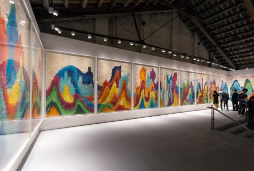 邬建安参加《不息-第57届威尼斯国际艺术双年展中国馆北京站》
