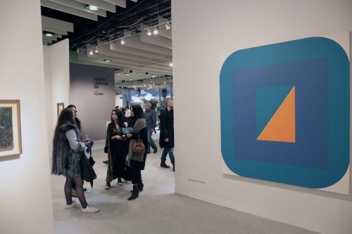 What's Cool at the 2018 Armory Show? See Images From the Art Fair's Blizzardy Opening