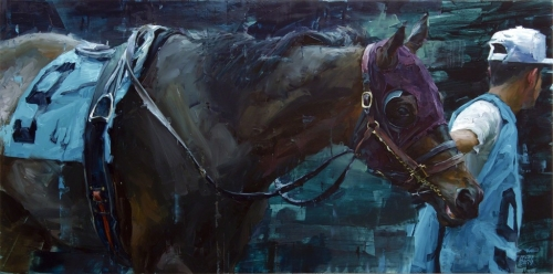Aron Belka's 'Call To Post': Inspired By New Orleans' Fair Grounds Race Course