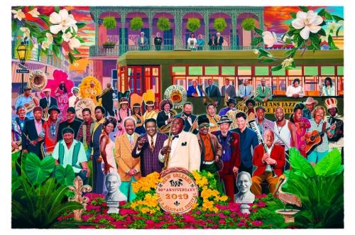 Inside the Arts: Scott Guion's Family Portrait: Jazz Fest at 50, Jammin' on Julia