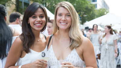 25th Annual Hancock Whitney White Linen Night held in Arts District