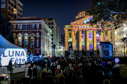 LUNA Fête's free light and video extravaganza returns Dec. 6, adding two locations