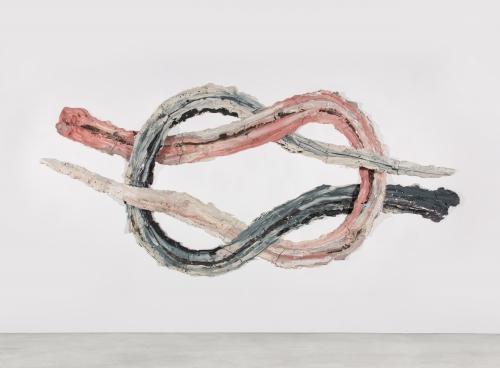 """Brie Ruais, """"Interweaving Two Times 130lbs (Thief Knot),"""" 2021"""