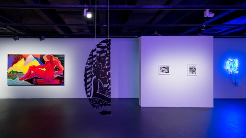 FUTURE WOMAN // remake me, installation view at The Yuz Museum, Shanghai, 2016