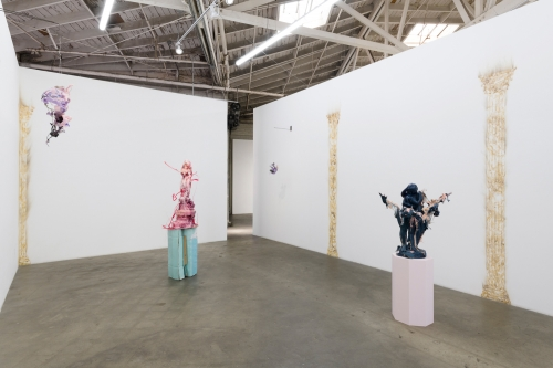 Hall of Mirrors, Installation view at Night Gallery, 2019.
