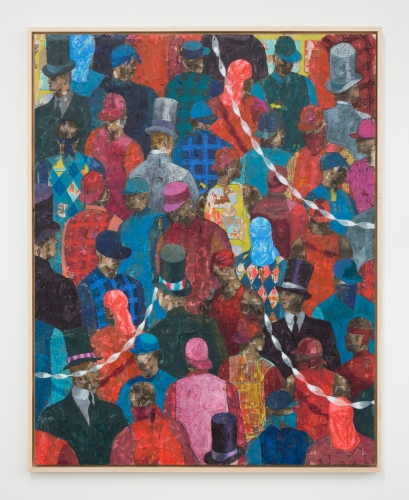 """Derek Fordjour, """"Two Party System,"""" 2019"""