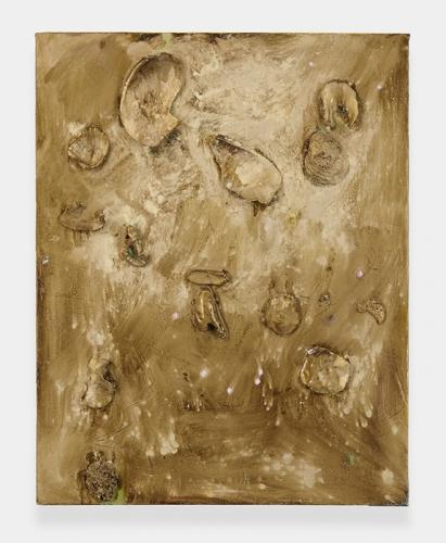 """""""Beach (gold),"""" 2013"""