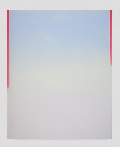 """Wanda Koop, """"Still (Luminous Red),"""" 2019"""