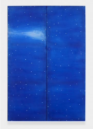"""""""Snow (Blue),"""" 2013"""