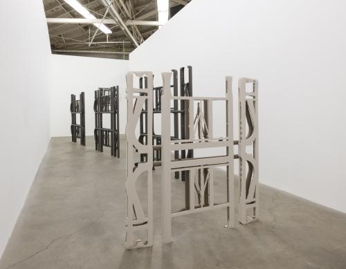 """Marrow into Moxie,"" installation view at Night Gallery, 2015."
