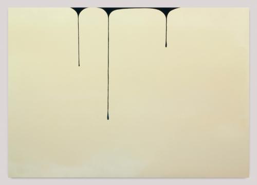 """Spill (Cream-Blue Black),"" 2013"