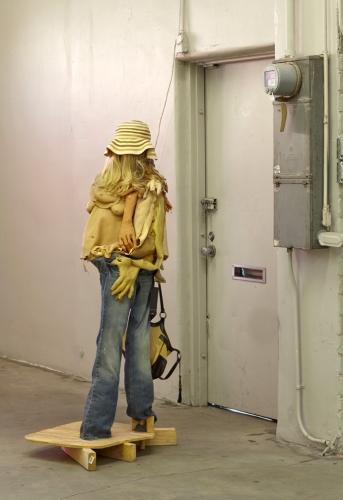 "Lizzie Fitch, ""Untitled,"" installation view in International Women's Day, 2014."