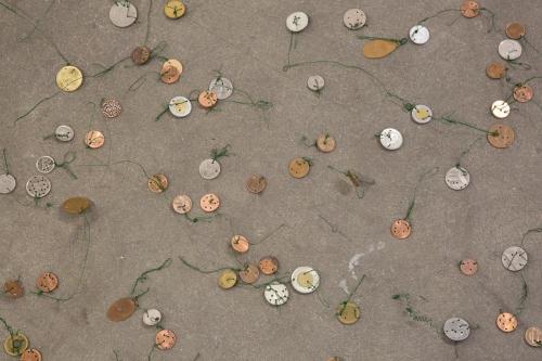 "Jenine Marsh, ""Currencies of Burrs and Weeds,"" 2017"