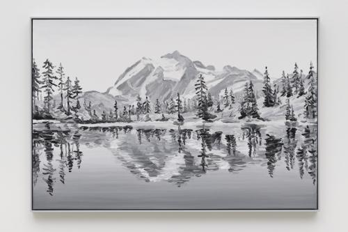 """Elegy (Picture Lake),"" 2019"