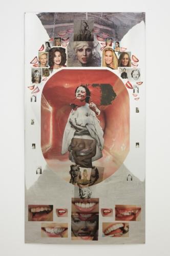 "Kandis Williams, ""Cervical Smile,"" 2016"