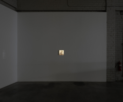Eurydice, installation view at Night Gallery, 2021.