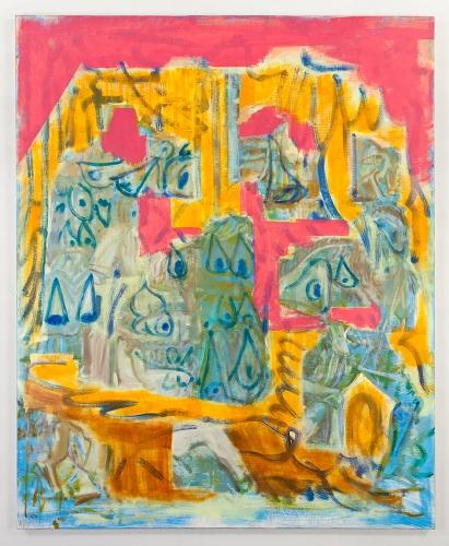 """Michael Berryhill, """"Revolving Cave Door,"""" 2016"""