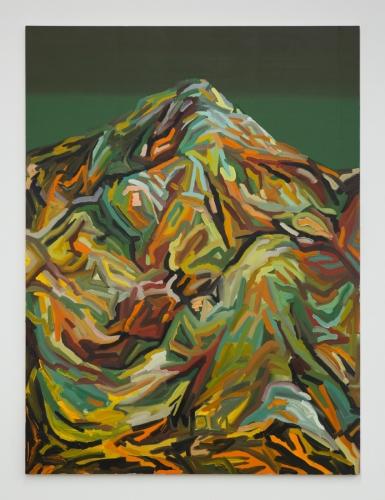 """Mt. Wilson (Green, Green, Black, Yellow, Green),"" 2015."
