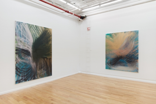 Eyes To The Wind, installation view, Broadway Gallery, New York, NY, 2021.
