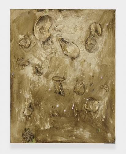"""""""Beach (Gold),"""" 2012"""