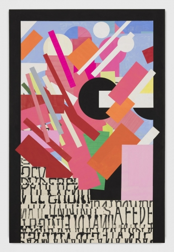 "David Korty, ""Color Construction #1,"" 2018"