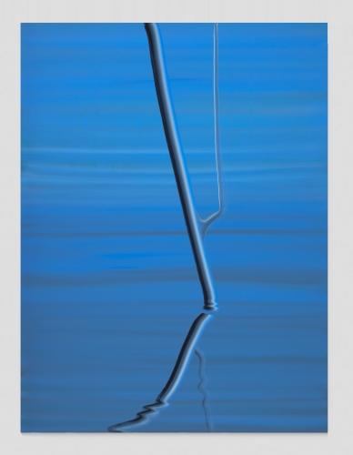 Smalt Blue (Reflection), 2020