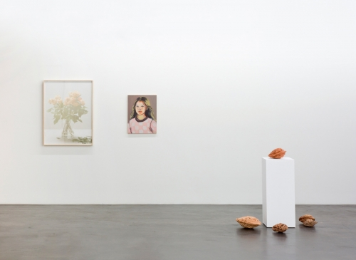 Installation view, Flowers in Your Hair, FUSED, 2016.