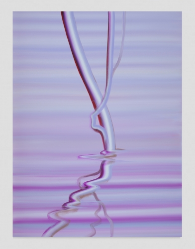 """Mauve Reflection,"" 2020"