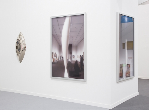 Installation view, Frieze New York, 2016