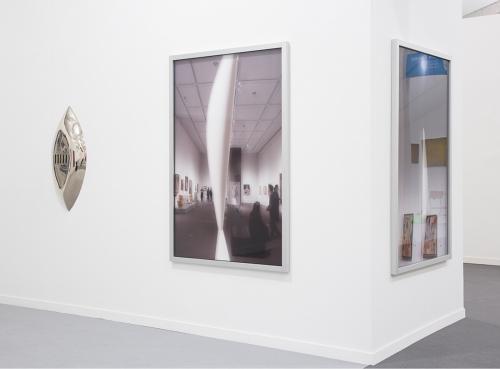 Installation view, Frieze New York, 2016
