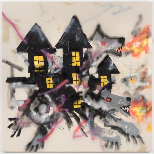 """Robert Nava, """"Haunted Wolf House,"""" 2019"""