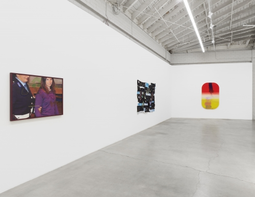 """TV Painting (Amanda),"" Majeure Force, Part Two, installation view, 2020."