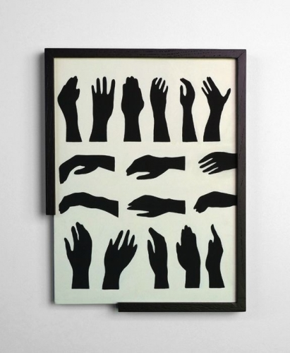 """Laeh Glenn, """"Hands,"""" 2013"""