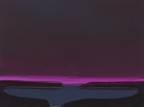 """Deep Bay (Magenta basin),"" 2007"