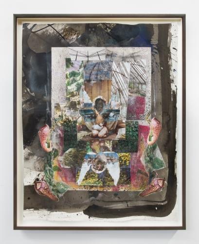 "Kandis Williams, ""Toxic Exotica Sketch 1,"" 2020"