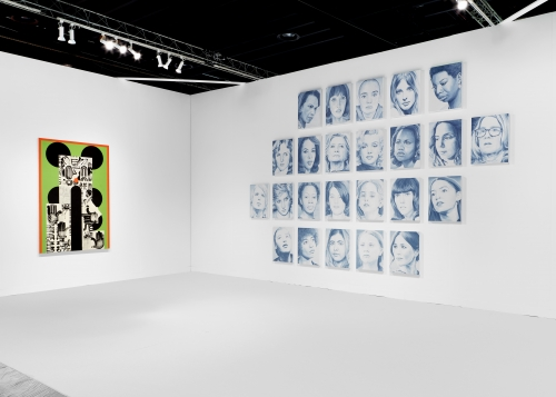 The Armory Show, installation view, 2020.