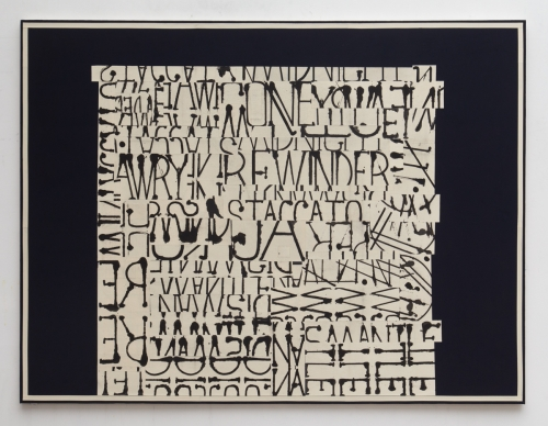 """Word Painting (Rewinder),"" 2016"