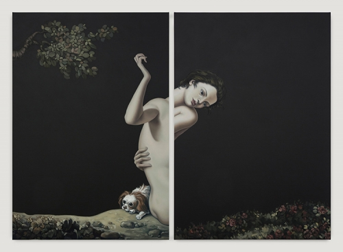 "Jesse Mockrin, ""Among the Leaves,"" 2017"