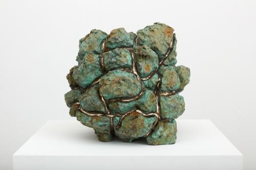 """Julia Haft-Candell, """"Expanding Green and Ochre,"""" 2021"""